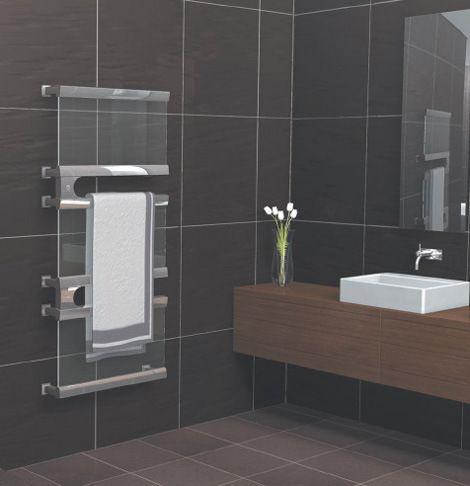 Glascia By Skope Modern Towel Rack Towel Warmer Towel