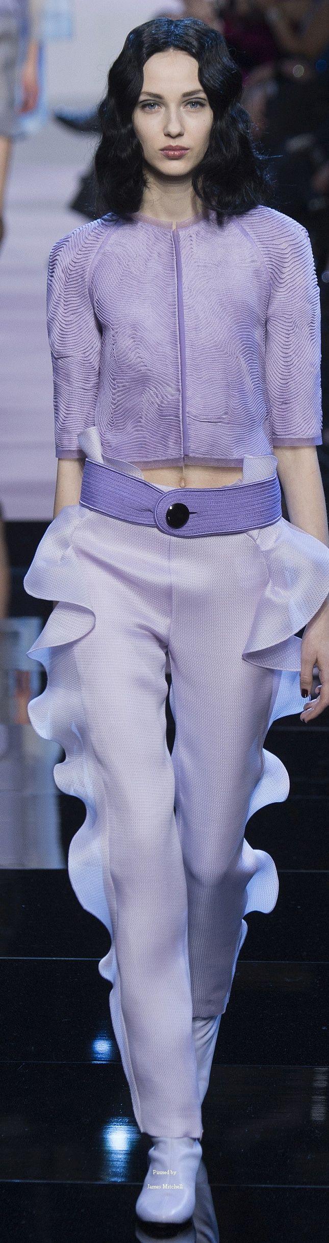 Armani Privé Collection Spring 2016 Couture