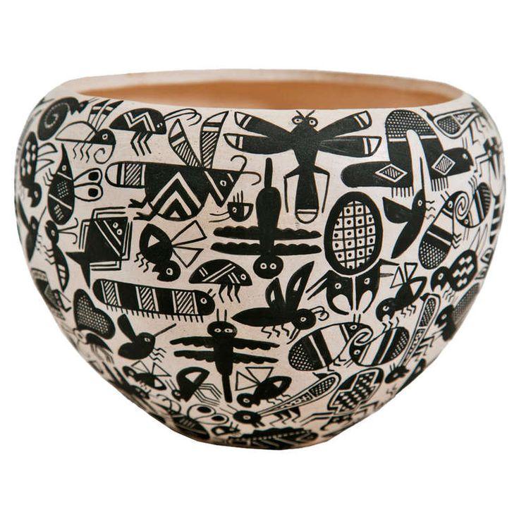 Acoma 'Insect' Pot by John F. Aragon