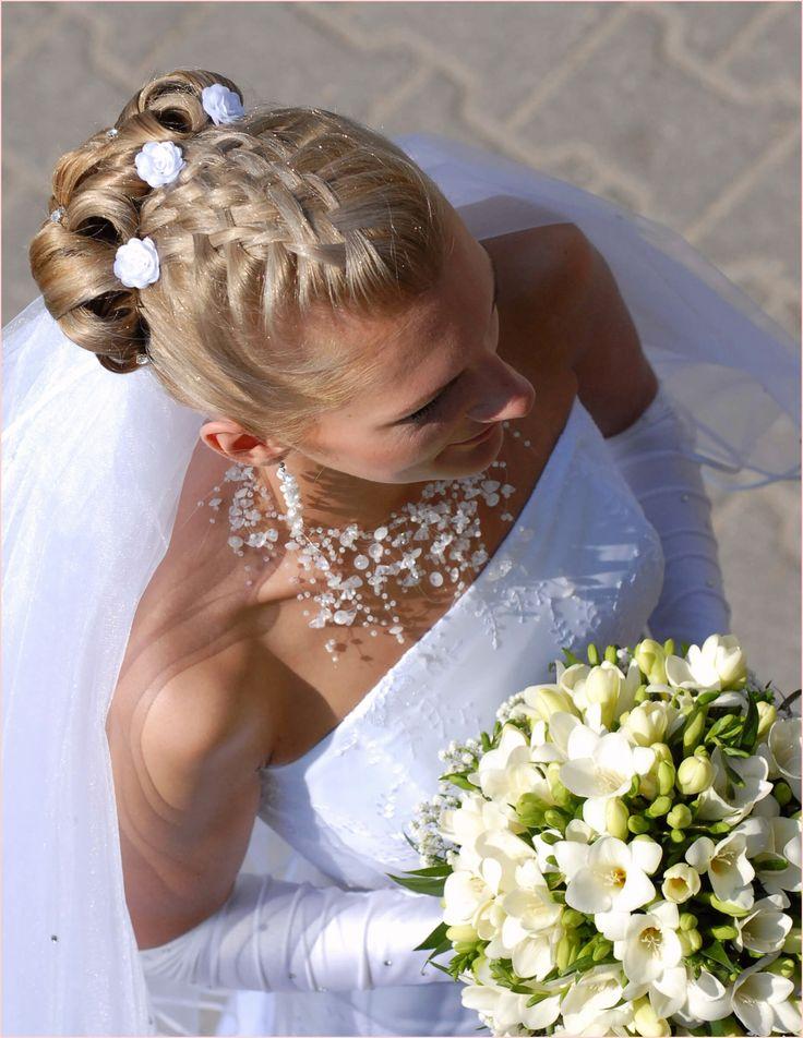 Brautfrisuren Halb Offen Locken