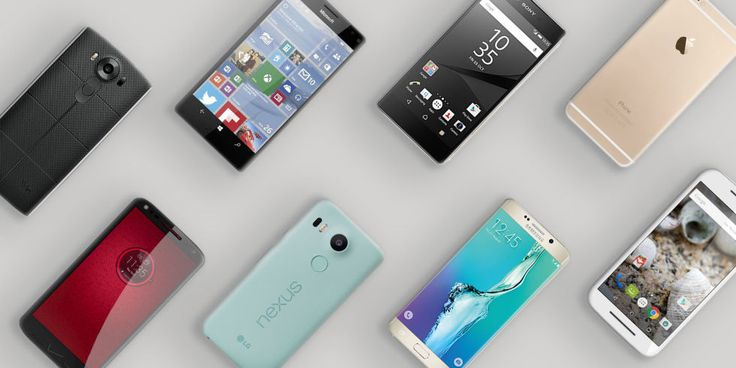 Our round-up of 2015's best smartphones that arrived with iOS, Android, or Windows 10 on board.