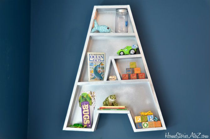 letter a styled...   Want to make these for all my kiddos ....love them!