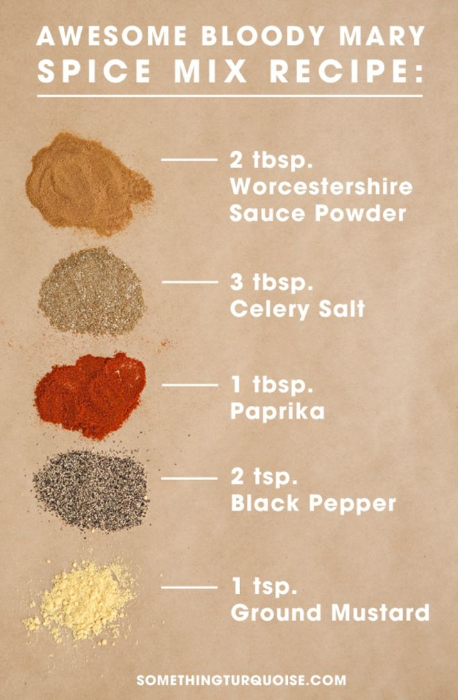 "Awesome ""dry"" Bloody Mary Spice Mix Recipe, you've got to try it!"