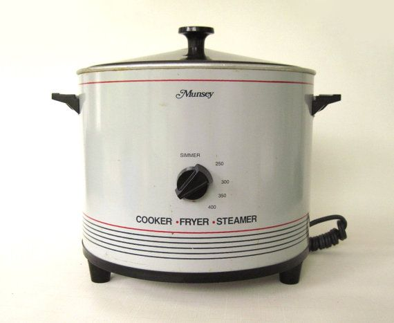 Sunbeam Electric Vegetable Steamer ~ Munsey cooker deep fryer steamer cf electric small