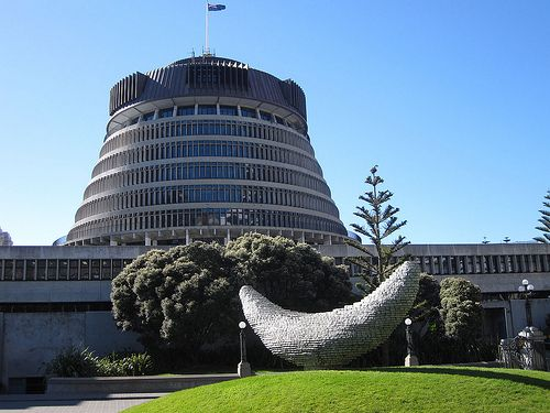 Wellington parliament (The Beehive)