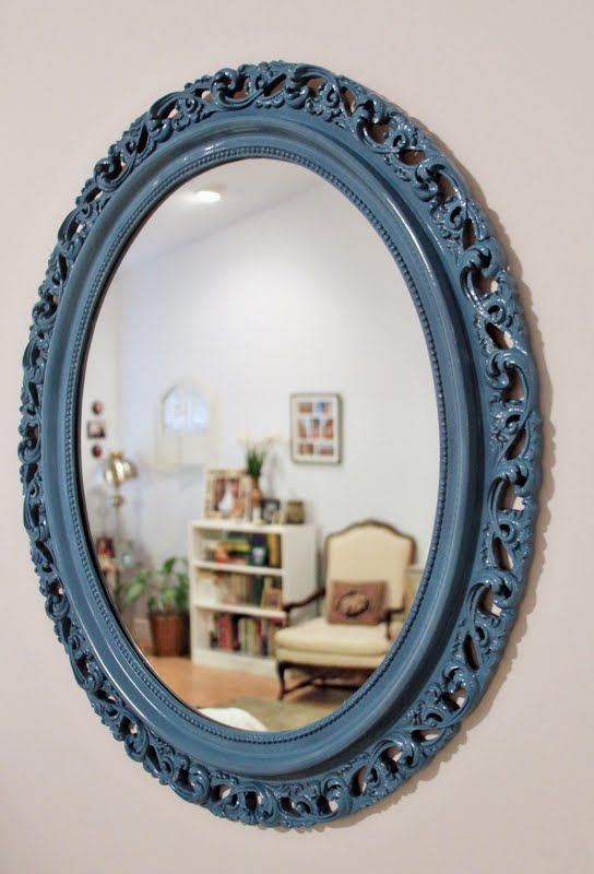 painted mirror frames on pinterest window mirror frames and framed. Black Bedroom Furniture Sets. Home Design Ideas