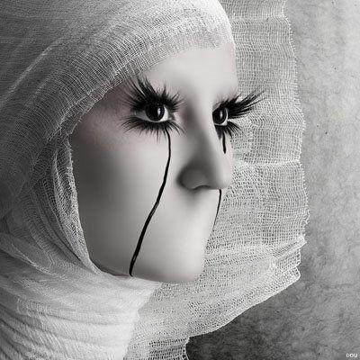 Oleg Dou: Oleg Dou, Digital Art, Olegdou, Fashion Photography, Lashes, Dolls Faces, Art Pictures, Black, Eye