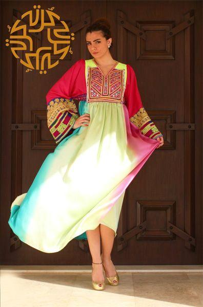 Beautiful Collection of #Jalabiya and #oriental #dresses by #Kurta brand #KSA