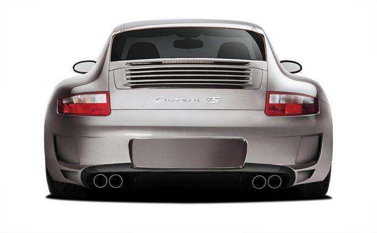 2005-2008 Porsche 997 Carrera Carbon AF-1 Rear Diffuser ( CFP ) - 1 Piece