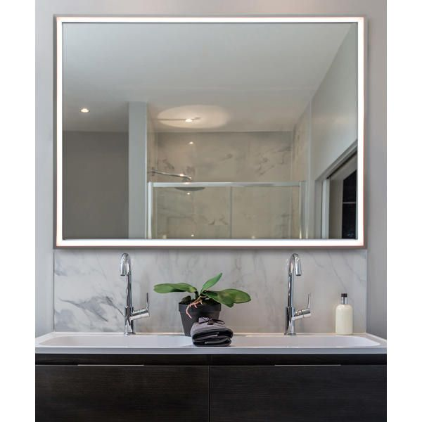 Radiance Lighted Mirror In 2020 Electric Mirror Mirror With