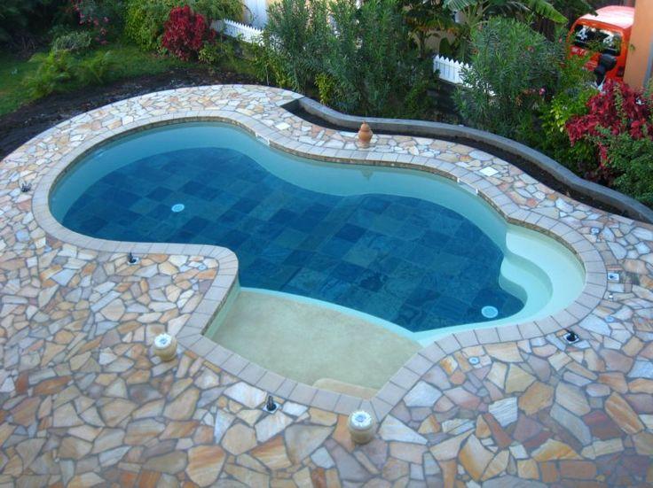 Les 364 meilleures images du tableau piscines sur for Construction piscine 974
