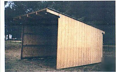 how to build a lean to canopy
