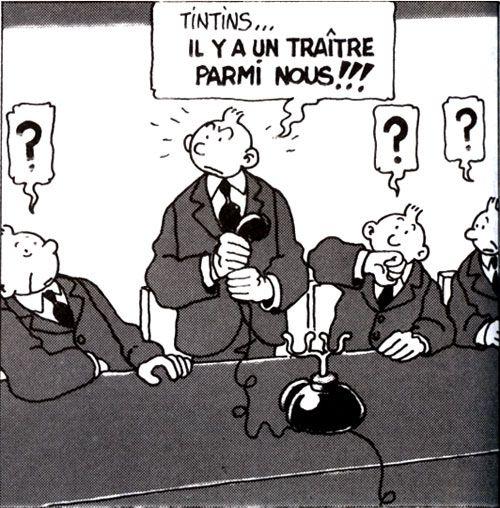 ♠ Tintin by Tardi ♠