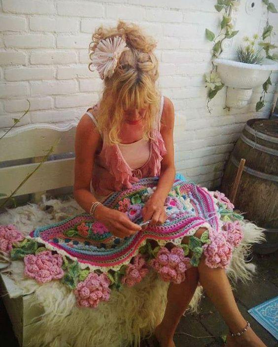 Geweldig! Het buitenseizoen is weer begonnen!! ☀ #garden #crochetday #inspiration #happyday #sunshine #lifeisgood #adindasworld #uncinetto #lovelyday