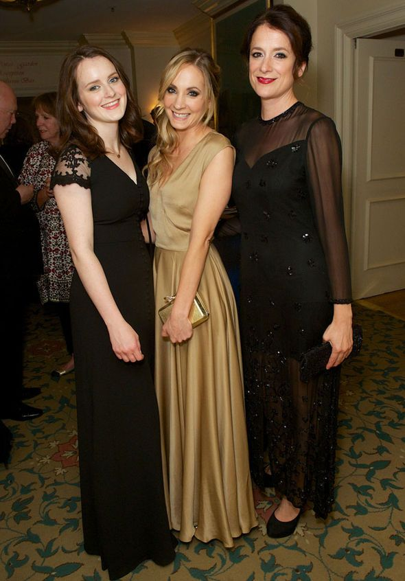 Sophie McShera, Joanne Froggatt and Raquel Cassidy at the Downton Abbey Special OIympics Gala