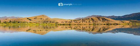 Lake Hayes autumn pano - New Zealand Fine art photography and landscape images | Jon Wright photo