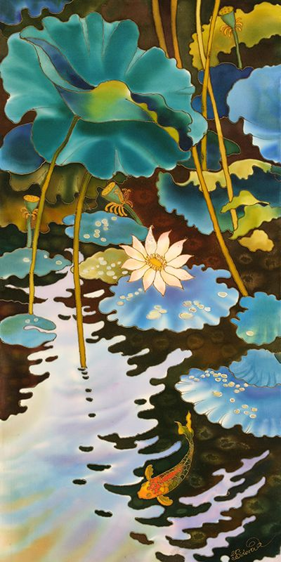 Fish Pond ~ Yelena Sidorova