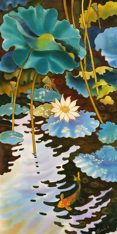 Fish Pond ~ Yelena Sidorova