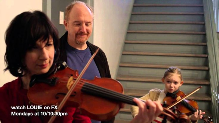 """Violin scene Ep 6 season 4 of LOUIE """" This is a moment of poetry. To realize we are all expiring, that his daughter is more equipped to communicate with this woman in two languages, music and Hungarian, is also profound. Louis never shies away from showing a person bumping into their own limits and fears of being displaced. That is why he's such a gifted comic. He could easily have been a novelist, a playwright, or a poet.""""""""The music is """"Evening in the Village"""" - Béla Bartók.... Read…"""