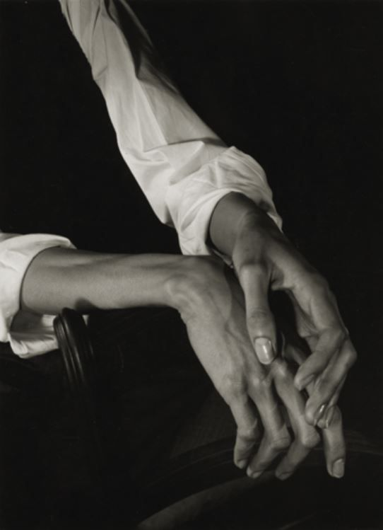 Minor White: Hands, 1949
