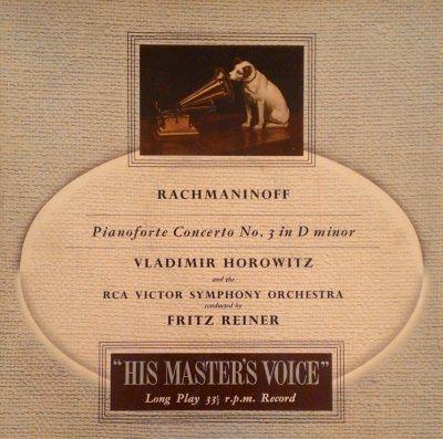 Rachmaninoff - Vladimir Horowitz, Fritz Reiner, RCA Victor Symphony Or – jamminsvinyl