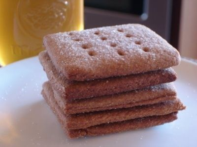 Homemade Grahm Cracker Recpie-Keeping Food True: The True Graham Cracker.