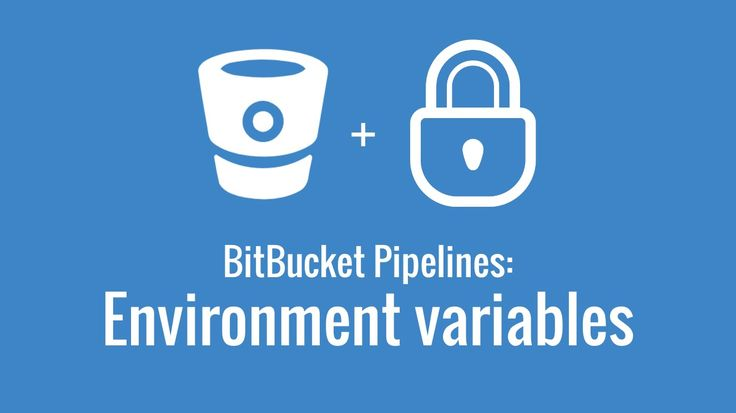 Using environment variables with BitBucket Pipelines