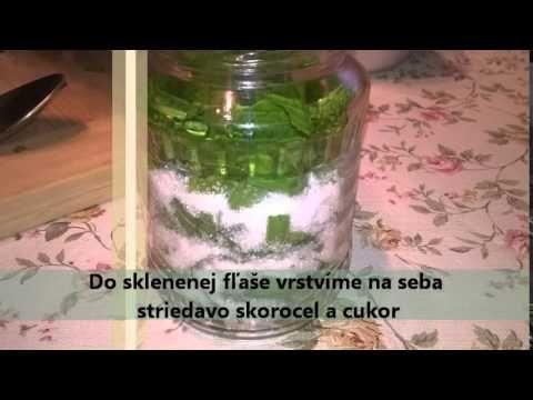 skorocelový sirup proti kašľu (recept) - YouTube