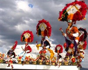 La Danza de la Pluma durante la Guelaguetza en Oaxaca #Mexico