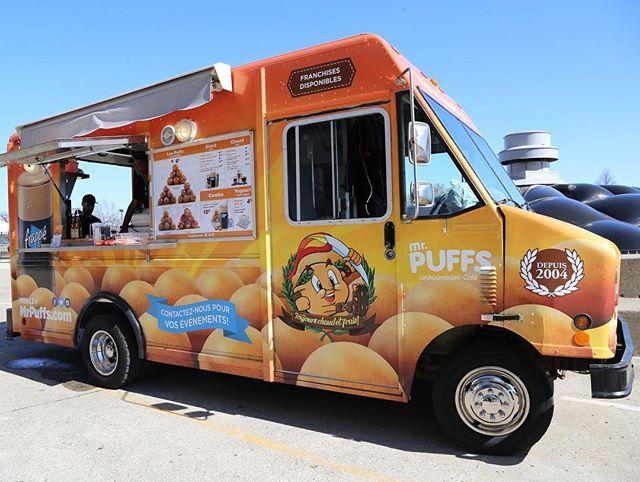Camion: Mr. Puffs    Spécialité: loukoumades (beignets à base de miel)  À essayer: les puffs au caramel crémeux