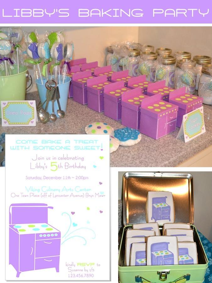 Best Baking Birthday Party Images On Pinterest Birthday