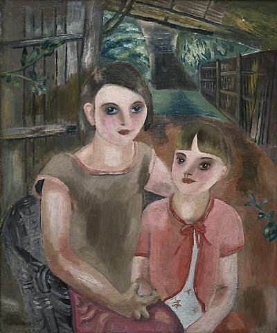 1930+Frances+Hodgkins+%28New+Zealand+artist%2C+1869-1947%29+Two+Children+1930.bmp (400×480)