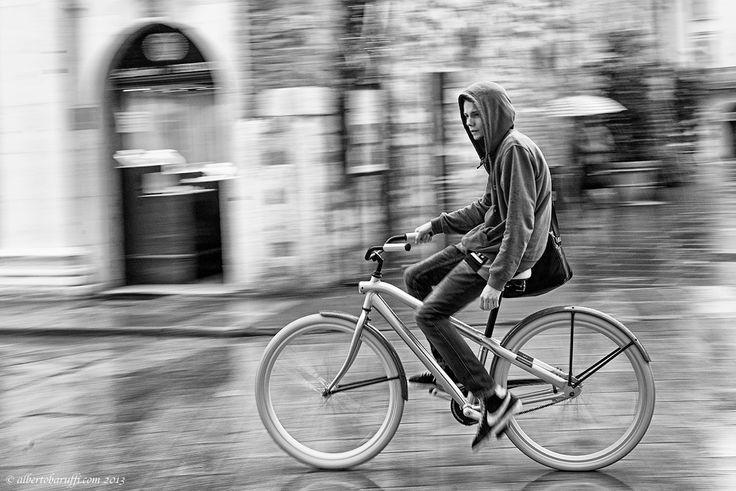 Panning bike by Alberto Baruffi on 500px