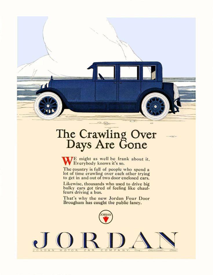 13 best Jordan Car Ads images on Pinterest   Motor car, Antique cars ...