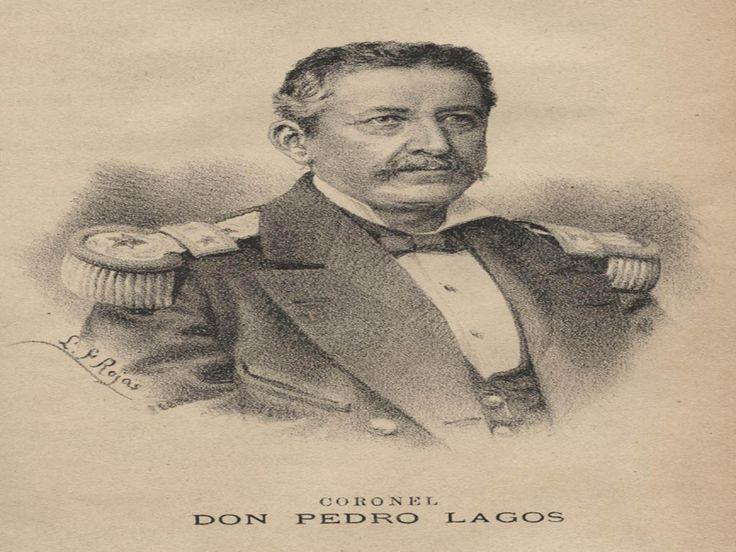 Coronel Don Pedro Lagos. Jefe de nuestras tropas en el asalto i toma de Arica