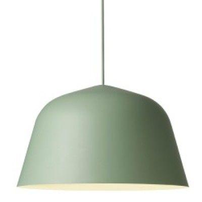 Muuto Ambit Ø40 zielona, ponadczasowa, uniwersalna lampa wisząca o zdecydowanym charakterzeØ40