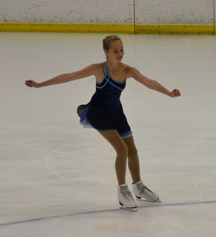Matilda now takes to the ice competing in Freeskate 3 (11 & over).