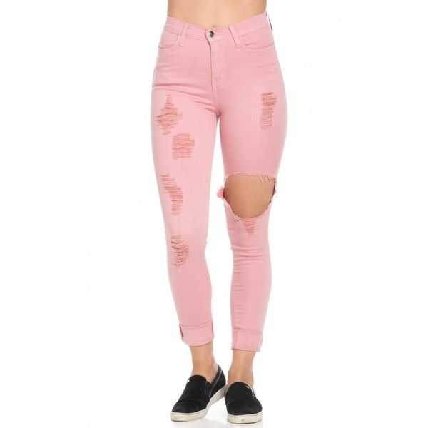 Best 20  Pink skinny jeans ideas on Pinterest | Pink jeans outfit ...
