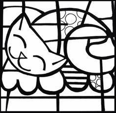 dibujos para pintar de arte britto - Buscar con Google