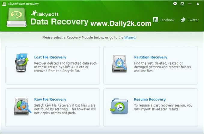 iSkysoft Data Recovery most popular Software in this world at this time.iSkysoft Data Recovery 1.3.2.2 software very useful in this application no matter