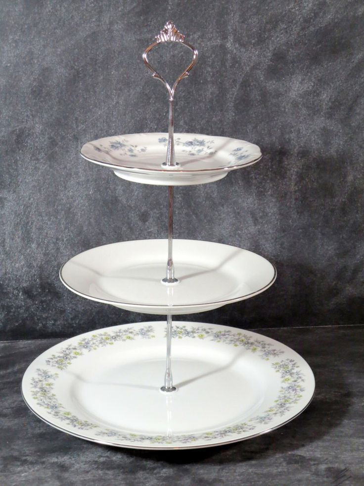 Wedding Plate Stand, 3 Tier China Tea Stand, Triple Tiered Plate Stand, Cake Stand, Tiered Pastry Server, Cookie Plate, Appetizer Server 47 by DancingDishAndDecor on Etsy https://www.etsy.com/listing/204191348/wedding-plate-stand-3-tier-china-tea