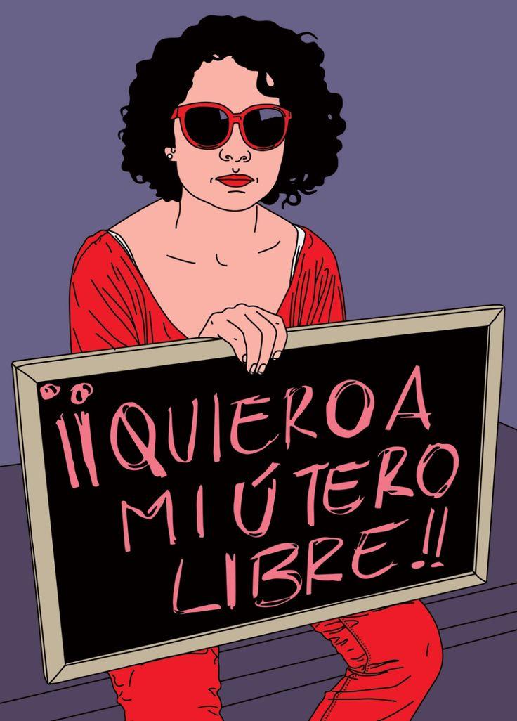 La creadora peruana María María Acha-Kutscher comenzó con el movimiento 15M en Madrid su serie Indignadas . El proyecto se ha internacionalizado con imágenes de Occupy Wall Street y las protestas a favor de Charlie Hebdo , entre otras manifestaciones.