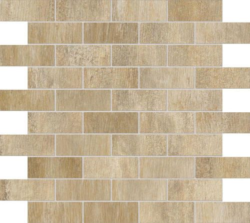 "Ragno Arte Colorbody Porcelain Mosaic Floor or Wall Tile 1.25"" x 3"" at Menards"