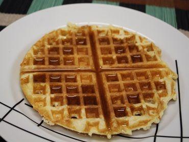 Receita de Waffle clássico - Tudo Gostoso