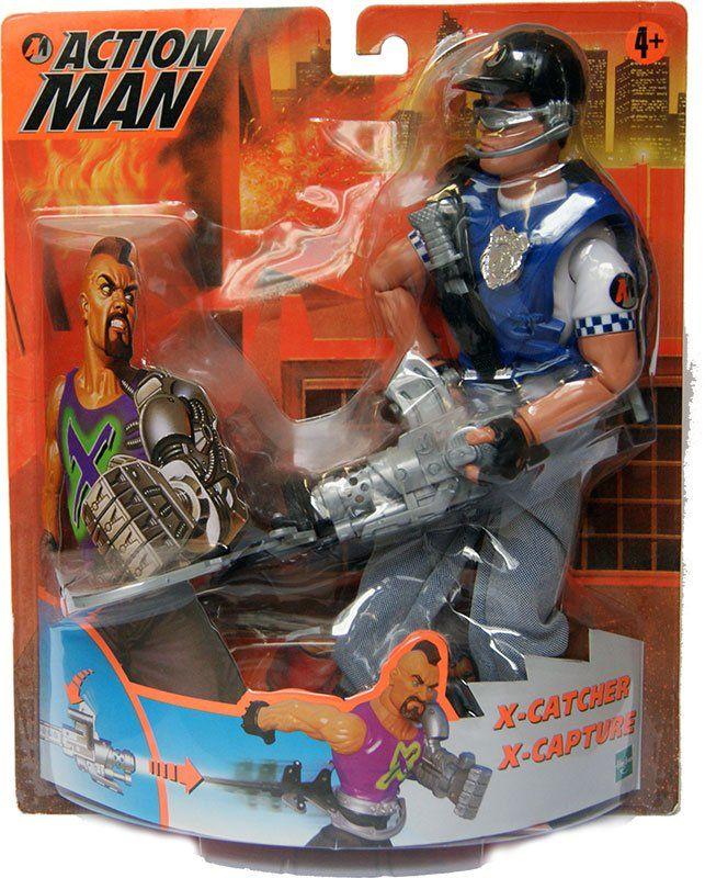 Acttion Man - X-Catcher  Hasbro  Action Man www.detoyboys.nl