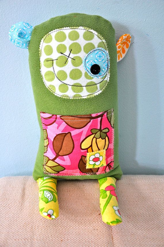 I need to make something like this for the girls. What a great way to use up fabric scraps.