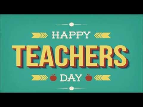 Teacher's Day is celebrated on 5th September in India. The day commemorates the birthday of Dr Sarvepalli Radhakhrishnan, a philosopher and a teacher, and …