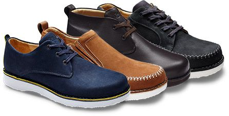 Comfortable men's dress shoes, casual shoes and walking shoes   Samuel Hubbard