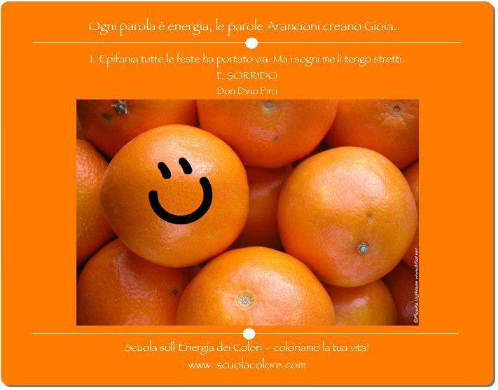 Le parole Arancioni creano emozioni