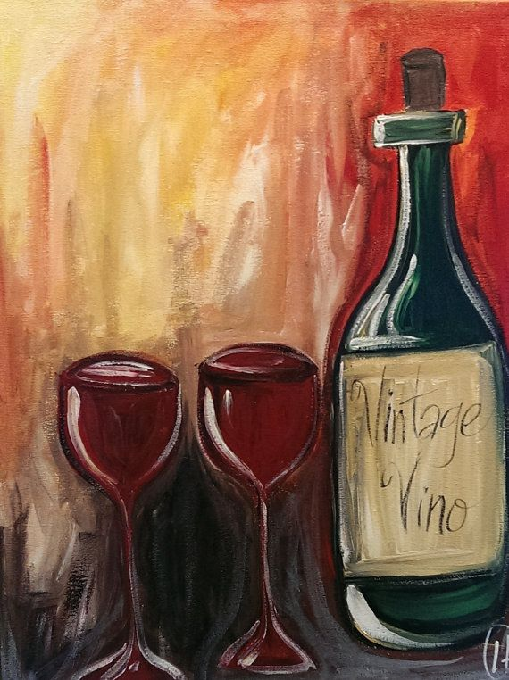 20 best bottle and bottega images on pinterest painted for Paint vino
